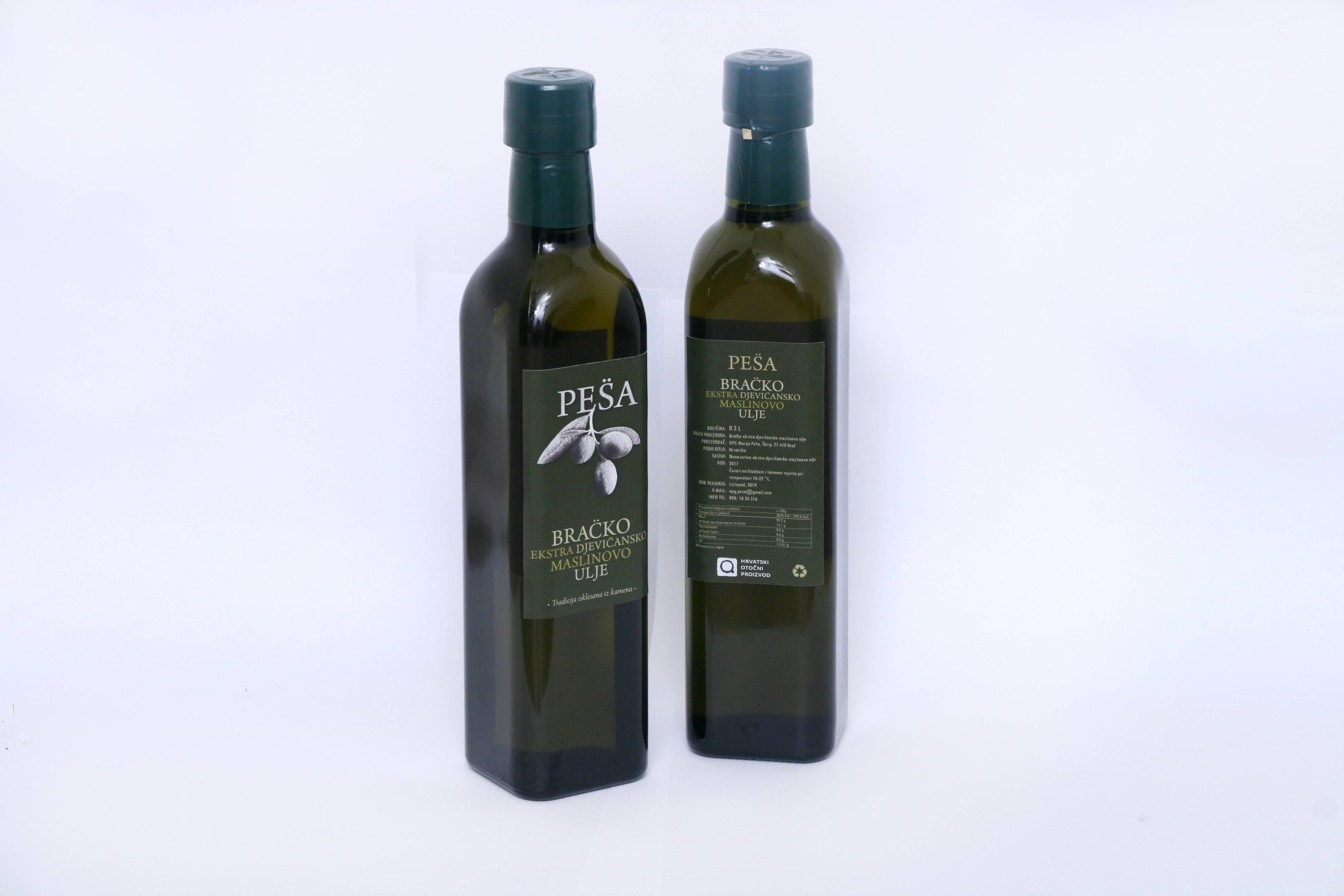 Bračko ekstra djevičansko maslinovo ulje 0.5 l
